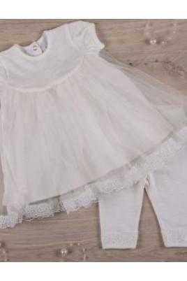 Комплект нарядный для девочки Дева мария,кулир TM Betis