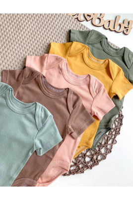 Бодик для новорожденных На стиле в разных цветах