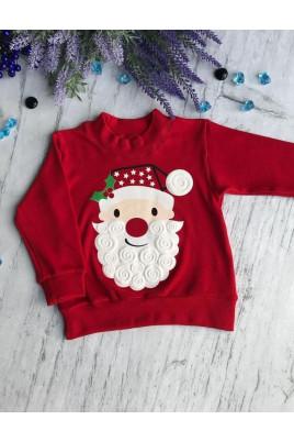 Новогодний джемпер для малышей Дед Мороз
