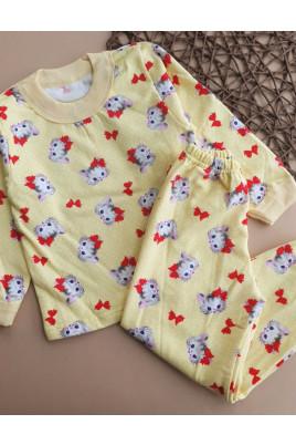 купить теплую пижаму девочке