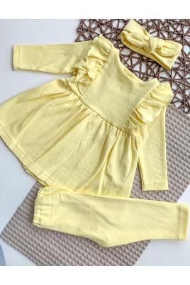 Купить Милый комплект платье лисины и повязка солоха для девочки Анютка