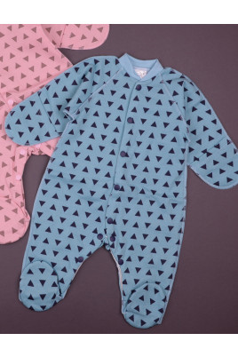 Комбинезон Bear для новорожденных, футер ТМ Merry Bee