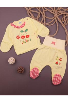 Комплект для новорожденных Вишенка желтый ТМ Minikin