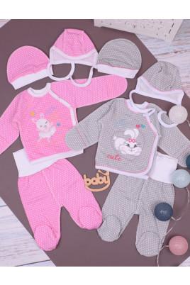 Комплект для новорожденных Cute, футер ТМ Кай и Герда