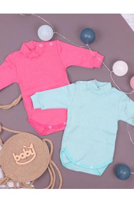 Теплое боди-гольф с начесом для малышей