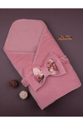 Одеяло-конверт утепленный Hanna (велюр, синтепон), ТМ Няня