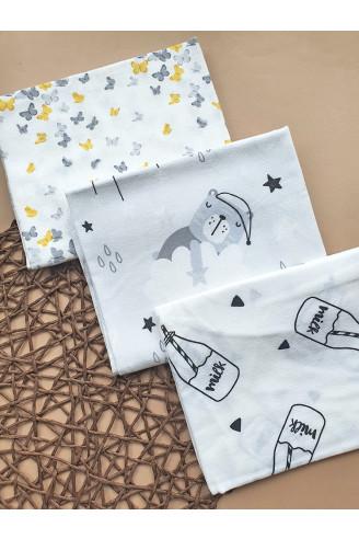 Купить Пеленки фланелевые (байка) для новорожденных Милашки, 100х80