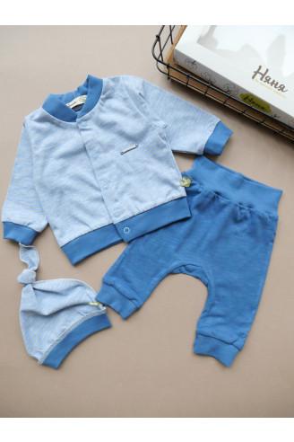 Купить Комплект на выписку из 3х единиц для новорожденного Mini Man ТМ Няня