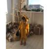 Стильное платье с повязкой и лосинами Анютка ,интерлок ТМ Litlle angel