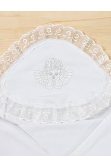 Крыжма для крещения белая ТМ Кай и Герда