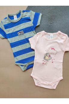 Бодики футболки для малышей Стиляжки ТМ Breeze