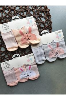 Набор носков для малышей Зайки ТМ BiBaby