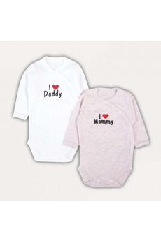 Комплект из двух боди малышам  Daddy