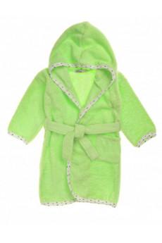 Халат махровый зеленый ТМ Няня