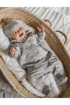 Комбинезон на подкладе с капюшоном для малышей Soft