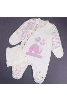 Комплект для новорожденных Слоники ТМ Малена