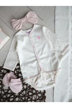 Комплект с боди для новорожденных