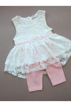 Нарядный летний костюм для девочке Элегантность ТМ Breeze