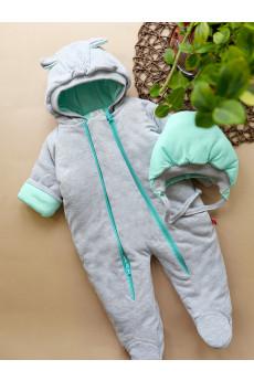 Теплый комбинезон для новорожденных Mini в разных цветах