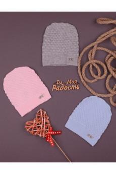 шапка вязка для малышей тм няня